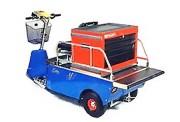 Véhicule électrique spécial caisse à outils - Modulable à 2 batteries 95 A/h - Autonomie : 8 à 16 heures