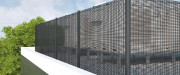 Brise vue balcon toile - 100 % acrylique