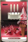 Machine à glace de comptoir - 2 parfums + mix - cuves réfrigérées