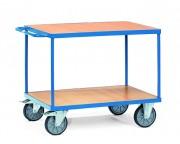 Chariot porte outils à 2 plateaux - Charge : 500 - 600 Kg