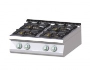 Plan de cuisson Gaz - Version top - Dimensions : Jusqu'à 1200 x 730 x 300 mm