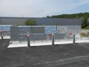 Barrière sécurité quais déchetterie - Toutes les typologies de déchets (hors gravats)
