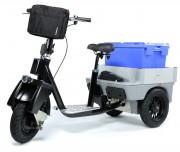 Porteur professionnel électrique multifonction - Tricycle électrique professionnel multifonction