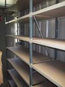 Rayonnage fixe garage à échelles