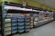 Meubles frigorifique de supermarchés pour laitages