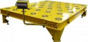 Quai de stockage palette avec pesage - Hauteur de chargement: 508 mm/20
