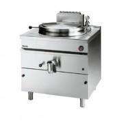 Marmite à gaz en acier inox 113 litres - Allumage piezo, robinet de vidange, puissance 21 kW