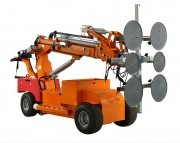 Chariot à palonnier à ventouse télécommandé - Capacité de charge : 808 Kg - Hauteur levage : 4400 mm
