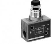 Régulateur flux pneumatique Limiteur de débit unidirectionnel