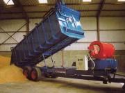 Remorque pour séchage céréales - Remorque sécheuse pour manutention agricole