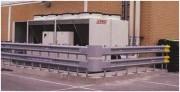 Glissière de sécurité avec simple ou double lisse carrée - Protections des machines