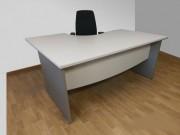 Bureau d'angle occasion - Longueur bureau : 160cm