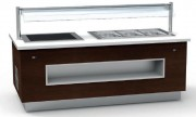 Buffet modulaire profondeur 1100 - Dimensions : 1700 x 1100 x 900 mm