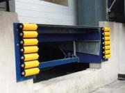 Butoir de quai à rouleaux - Protection contre les dégâts causés par les poids lourds