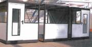 Cabine d'atelier métallique palettisable - Structure métallique acier, isolation laine de roche