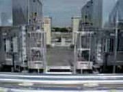 Passerelle d'accès tour de refroidisseurs