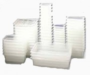 Bacs gastro GN 1/2 polycarbonate pour cuisine professionnelle