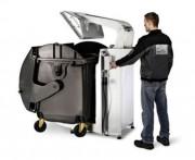 Compacteur pour conteneur à déchets - Pour conteneur en acier ou plastique de 660 à 1100 l