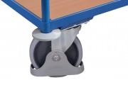 Galets protecteurs pour roue de chariot - Diamètre roue : 100 mm