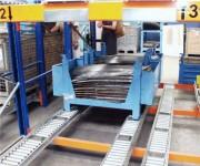 Rack de stockage dynamique palettes  - Stockage dynamique palettes FIFO