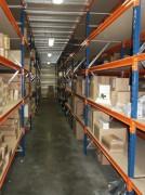 Rayonnage grand volume - Hauteur standard : de 2000 à 5000 mm