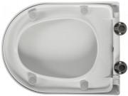 Abattant WC silencieux déclipsable - Double frein de chute
