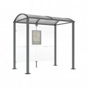 Abri arrêt de bus - Longueurs disponibles : 2500 - 5000 mm