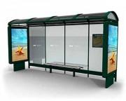 Abri bus 5400 x 2777 mm - Dimensions (L x H ) : 5400 x 2777 mm