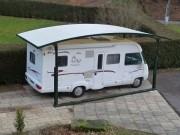 Abri camping-car 1 place - Hauteur : de 2 m à 3,40 m - Polyvalent