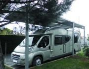 Abri camping car en acier - Température maximum d'utilisation: de -30° C à +70° C