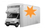 Abri camping car en toile - 525 x 300  x  360