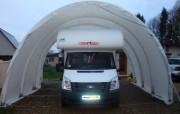 Abri camping car souple - Longueur : de 6 à 12 m