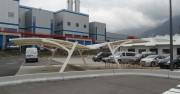 Abri concessionnaire - Abris modulaires pour voitures – Fabrication sur mesure possible