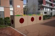 Abri container béton design - Résistance totale dans les environnements sensibles