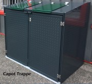 abri conteneur 770 l capacit poubelle 770 l abri 4. Black Bedroom Furniture Sets. Home Design Ideas