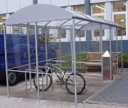 Abri cycles polyvalent - Vélos et fumeurs - Capacité : 10 cycles