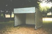 Abri d'exposition - Cotes au sol (mm) : 3000 x 3000