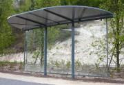Abri de bus - Hauteur : 4.50 m - Format : 4800 x 1850 mm