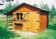 Abri de jardin en bois 3.03 x 2.03 mètres - Dimensions (L x P) : de 3.03 x 2.03 à 3.03 x 5.03 m