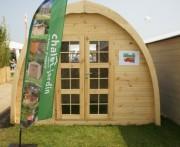 Abri de jardin igloo 4.53 m² - Surface extérieure au sol : 6.12 m²