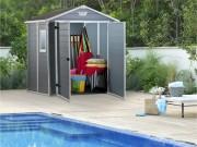 Abri de jardin résine - Surface intérieure : 2.3 ou 4.4 m²