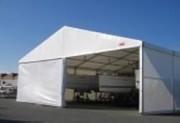 Abri de stockage d'appoint - Panneaux en PVC translucide norme CTS