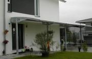 Abri de terrasse - Hauteur des poteaux : jusqu'à 4,00 m