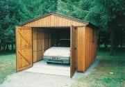 Abri de voiture en bois Hauteur 2.70 mètres - Hauteur totale : 2.70 m