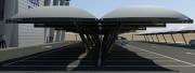 Abri en toile tendue pour voiture - Abri en toile tendue pour véhicules – Abri modulaire fabriqué sur mesure