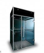 Abri fumeur avec système de ventilation - Système de ventilation intense et filtration spécifique de la fumée