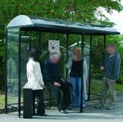 Abri fumeur extérieur ouvert - Capacité : de 3 à 12 personnes - 6 dimensions