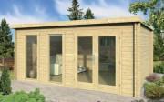Abri jardin en bois 20M2 - Essence du boisSapin non traité - Dimensions500x400cm