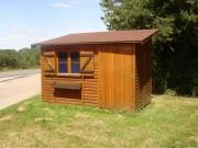 Abri jardin en bois monopente - 3 largeurs disponibles : 2.03 - 2.53 ou 3.03 m