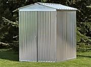 Abri jardin métal brut - Surface : 3.04 m² - 1,7 x 1,7 m